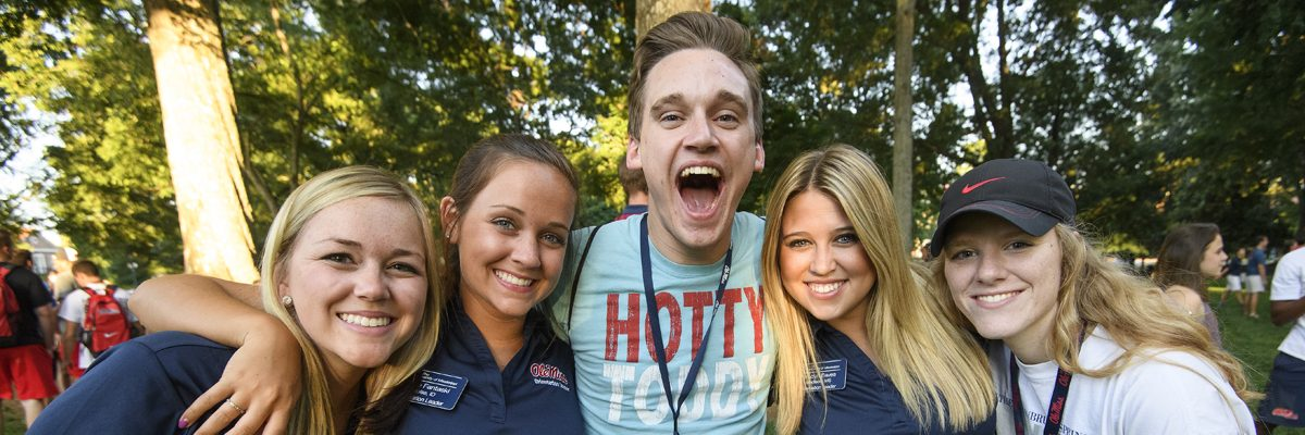 Ole Miss Orientation 2016. Photo by Thomas Graning/Ole Miss Communications